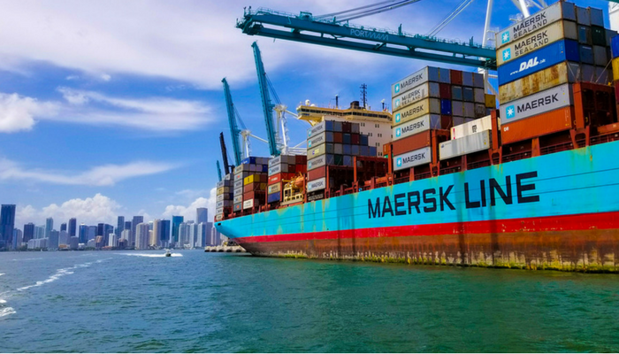 Maersk Arms Itself to Protect Against E-commerce Giants