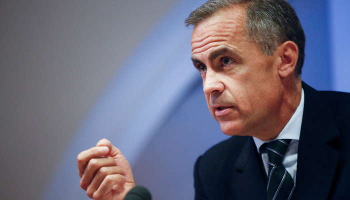 Bank of England Says Cryptocurrencies Don't Pose Risk to World Economy