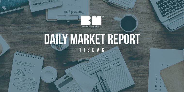 BMs Marknadsrapport 28/8 2018 – Rekordpriser, Chipotle, Apple och Dash